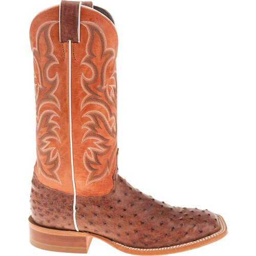 Justin Men's AQHA Remuda® Vintage Full Quill Ostrich Western Boots
