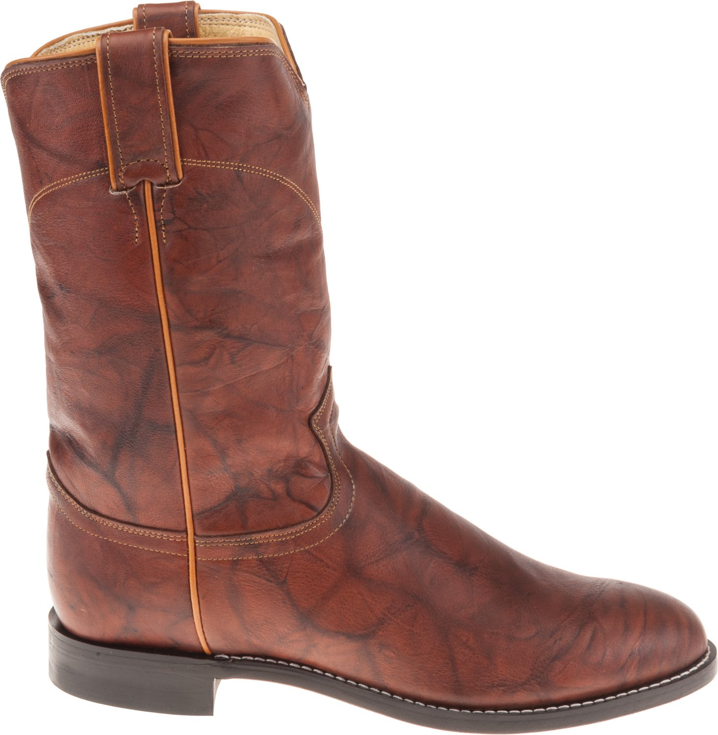 a0094807a Display product reviews for Justin Men s Ropers Marbled Deerlite Western  Boots