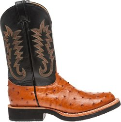 Justin Men's Exotics Full-Quill Ostrich Western Boots