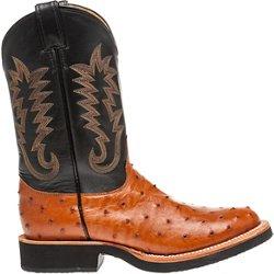 Men's Exotics Full-Quill Ostrich Western Boots