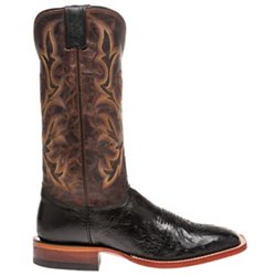 Men's Exotics Smooth Ostrich Western Boots