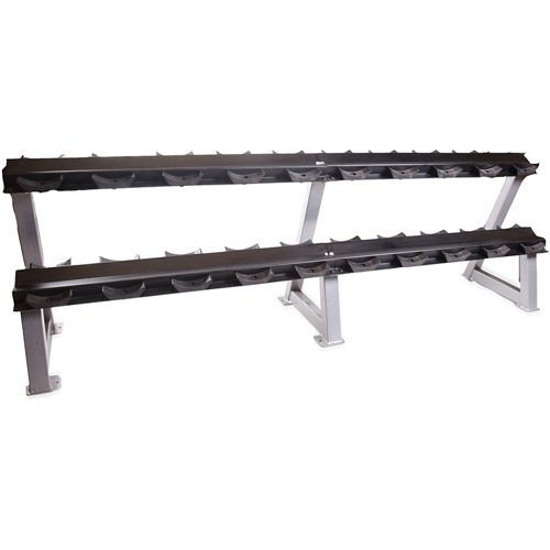 CAP Barbell 95' 2-Tier Dumbbell Rack with Saddles