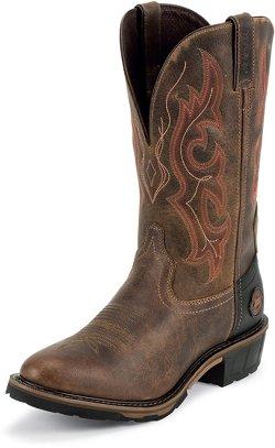 Justin Men's Rugged Utah Waterproof Western Work Boots