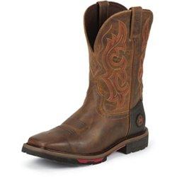 Men's Rugged Western Work Boots