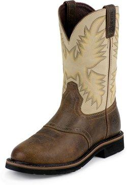 Justin Men's Western Work Boots