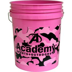 Pink Camo 5-Gallon Bucket