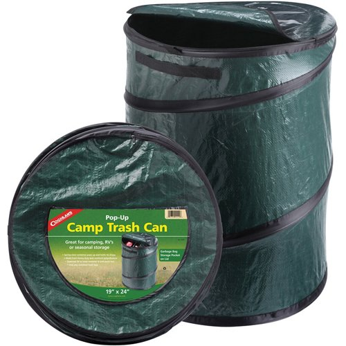 Coghlan's 33-Gallon Pop-Up Camp Trash Can