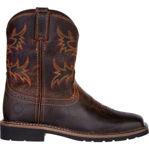 Justin Kids' Rugged Buffalo Boots