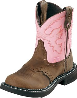 Justin Kids' Bay Apache Boots