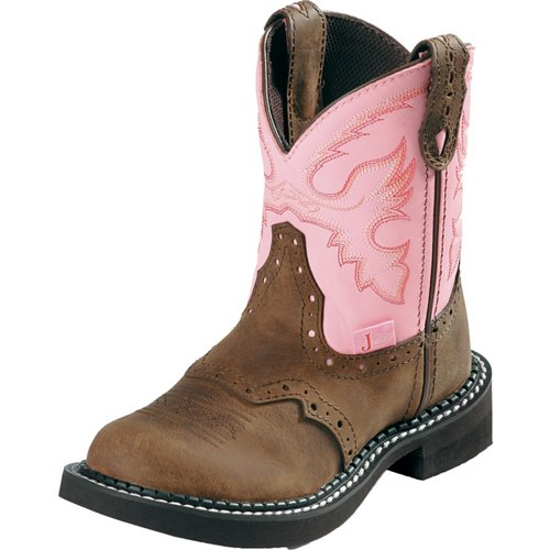 Justin Kids' Bay Apache Boots