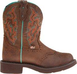 Justin Women's Gypsy® Barnwood Cowhide Western Boots