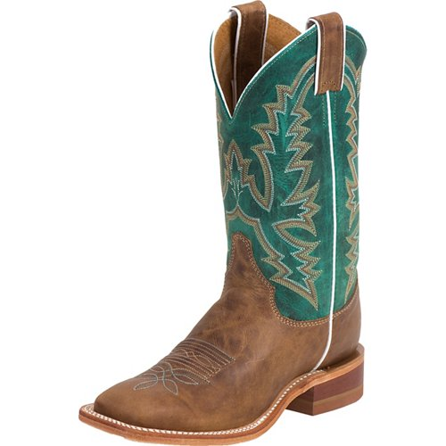 Justin Women's Bent Rail America Burnished Western Boots