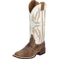 Women's Bent Rail Puma Cowhide Western Boots
