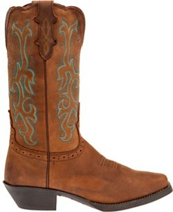 Justin Women's Stampede Sorrel Apache Western Boots