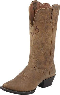 Justin Women's Puma Cowhide Western Boots