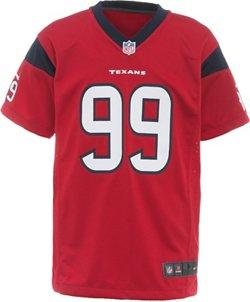 Nike™ Boys' Houston Texans J.J. Watt #99 Replica Game Jersey