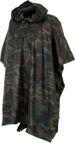 Game Winner Adults' Camo Poncho