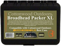 Cottonwood Outdoors Broadhead Packer XL Archery Accessory Case