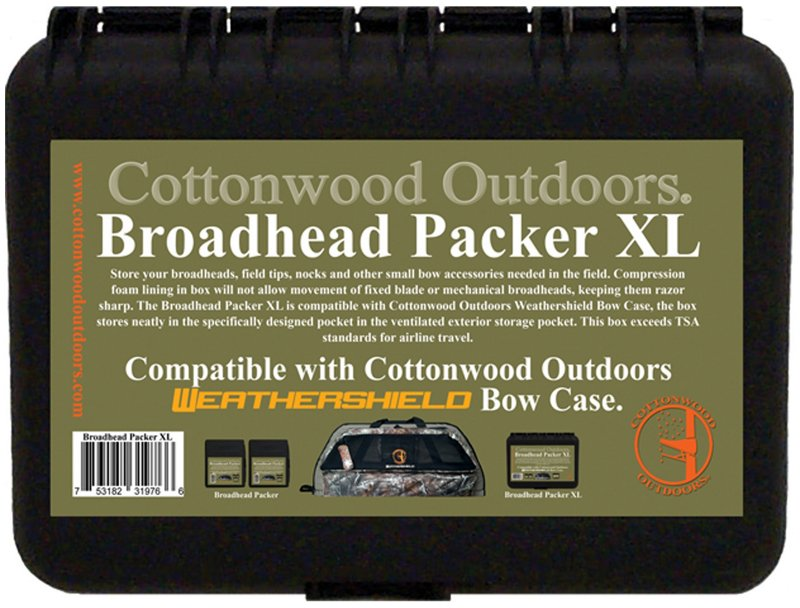 Cottonwood Outdoors Broadhead Packer XL Archery Accessory Case - Hunting Stands/blinds/accessories at Academy Sports thumbnail
