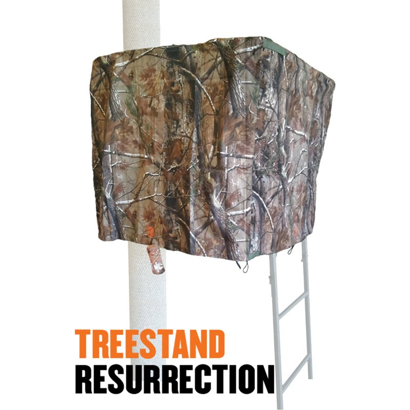 Cottonwood Outdoors Weathershield Treestand Resurrection 2 Panel ADA Blind System Kit - Hunting Stands/blinds/accessories at Academy Sports thumbnail