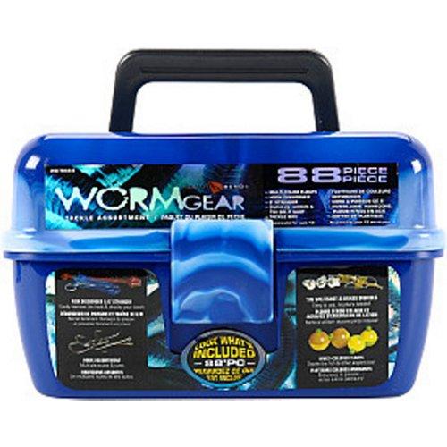 South Bend Wormgear 88-Piece Tackle Box