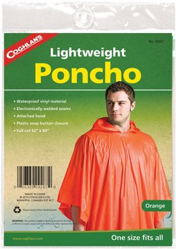 Adults' Lightweight Poncho