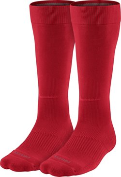 Nike Adults' Performance Knee-High Baseball Training Socks 2 Pack