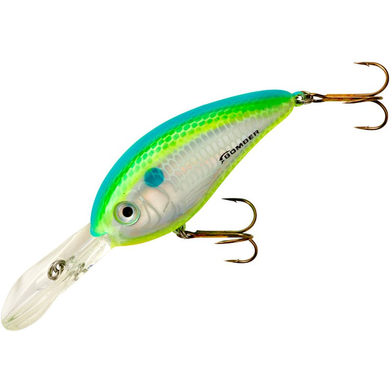 BOMBER Lures BOMBER Fat Free Shad Jr. Crankbait Dance's Citrus Shad – Fresh Water Hard Baits at Academy Sports