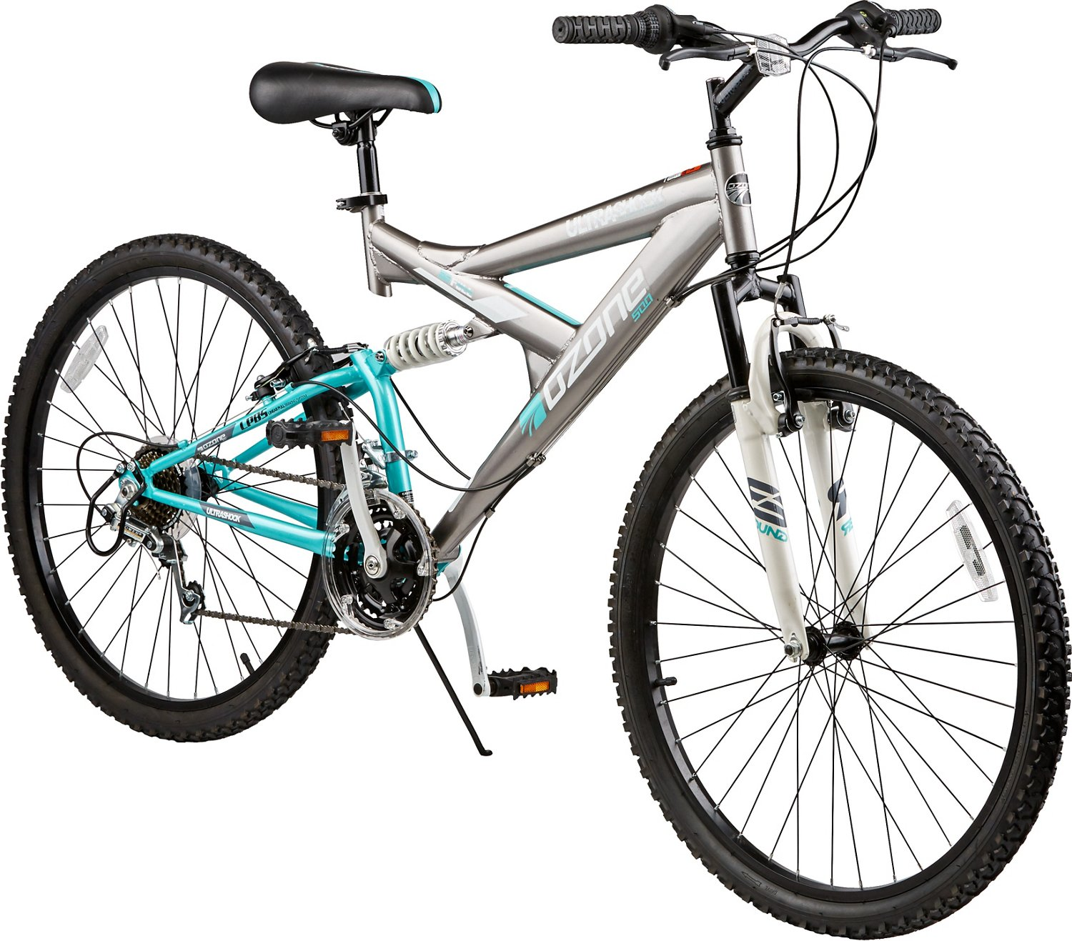 Ozone 500® Women's Ultra Shock 26' 21-Speed Dual-Suspension Bicycle