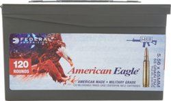 Federal Premium American Eagle XM 193 5.56 NATO 55-Grain Centerfire Rifle Ammunition
