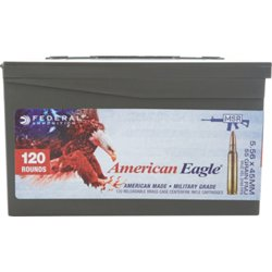 American Eagle XM 193 5.56 NATO 55-Grain Centerfire Rifle Ammunition