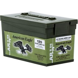 American Eagle XM 855 5.56 NATO 62-Grain Centerfire Rifle Ammunition
