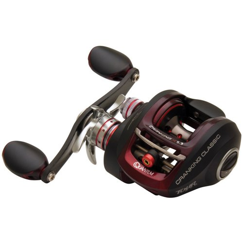 Quantum PT Tour KVD Low Profile Crankin Baitcast Reel Right-handed
