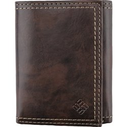 Men's Trifold Wallet with Built-In RFID Protection