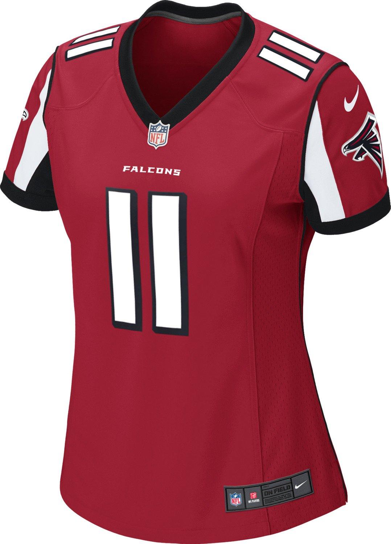 Nike Women s Atlanta Falcons Julio Jones  11 Game Team Home Replica Jersey   8f48a23d25