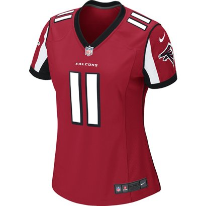 ... Women s Atlanta Falcons Julio Jones  11 Game Team Home Replica Jersey.  Academy. Hover Click to enlarge 3c0401ecf2