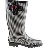 Austin Trading Co. Women's Houndstooth Rubber Boots (Houndstooth)