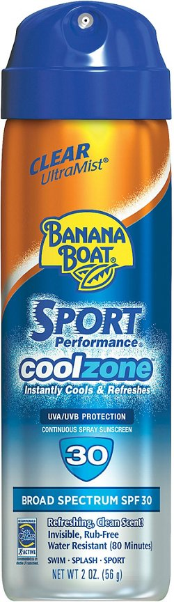 Banana Boat® Sport Cool Zone SPF 30 Continuous-Spray Sunscreen
