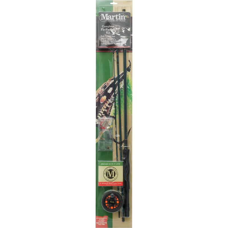 Martin 5/6 Weight Complete Fly Kit Brown – Fishing Reels, Fly Reels at Academy Sports