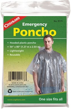 Coghlan's Adults' Emergency Poncho