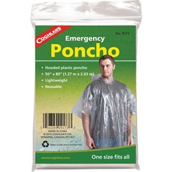 Adults' Emergency Poncho
