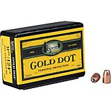 Speer Gold Dot .38 Auto/.380/9mm Luger 124-Grain Hollow-Point Bullets