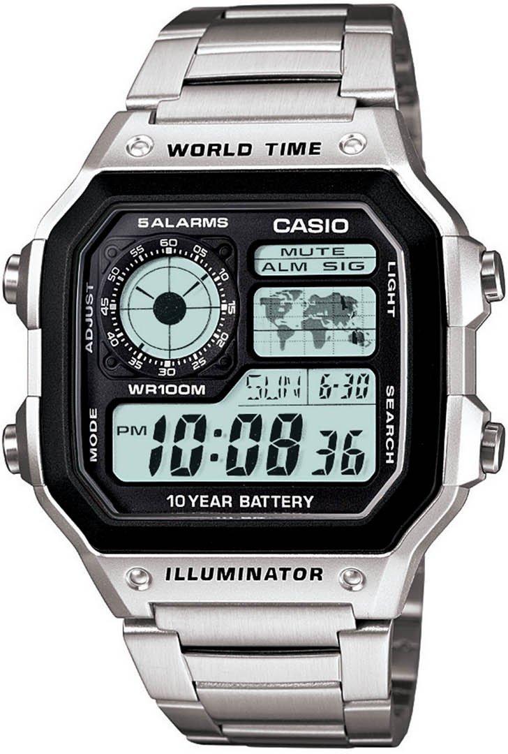 Casio Men's Classic Stainless Steel Analog/Digital Watch