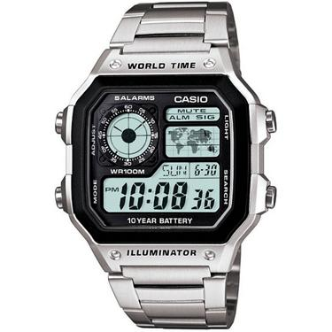 1147b67fd ... Casio Men's Classic Stainless Steel Analog/Digital Watch. Men's  Watches. Hover/Click to enlarge