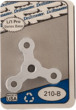"Driftmaster Li'l Pro 3/8"" Thread Star Rod Base"