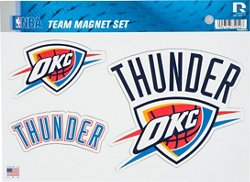NBA Oklahoma City Thunder Magnets Set