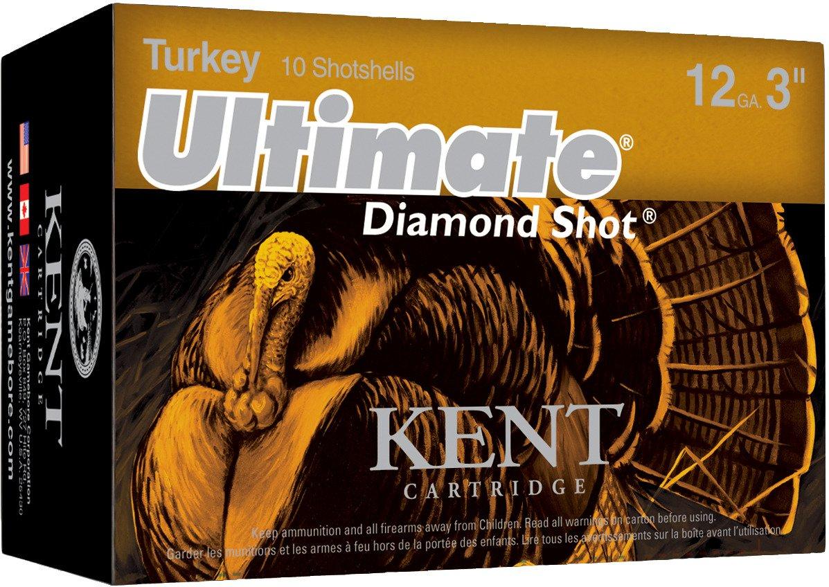 KENT Ultimate Diamond Shot 12 Gauge Turkey Shotshells
