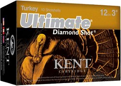 KENT Ultimate Diamond Shot 12 Gauge Turkey Shotshells