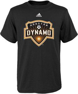 adidas™ Boys' Houston Dynamo Primary Logo Short Sleeve T-shirt