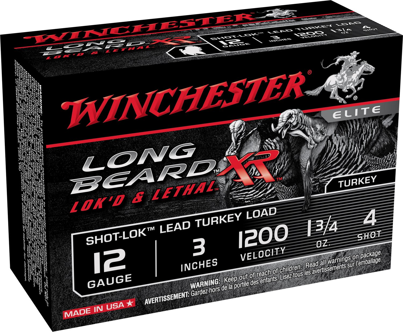 Winchester Long Beard XR 12 Gauge 3 inches 4 Shot Shotshells